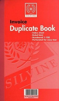 Invoice Duplicate Book, artoffice.ie