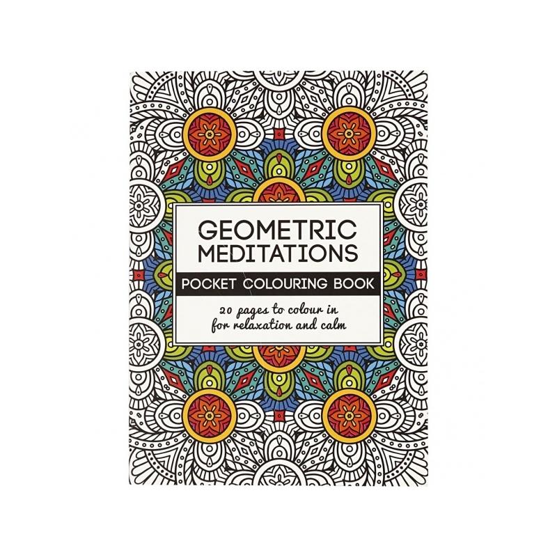 Geometric Meditations Colouring Book