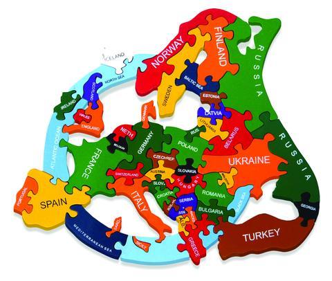 Interactive Jigsaw Map Of Ireland.Alphabet Jigsaws Irish Handmade Wooden Jigsaw Puzzles Map Of Europe
